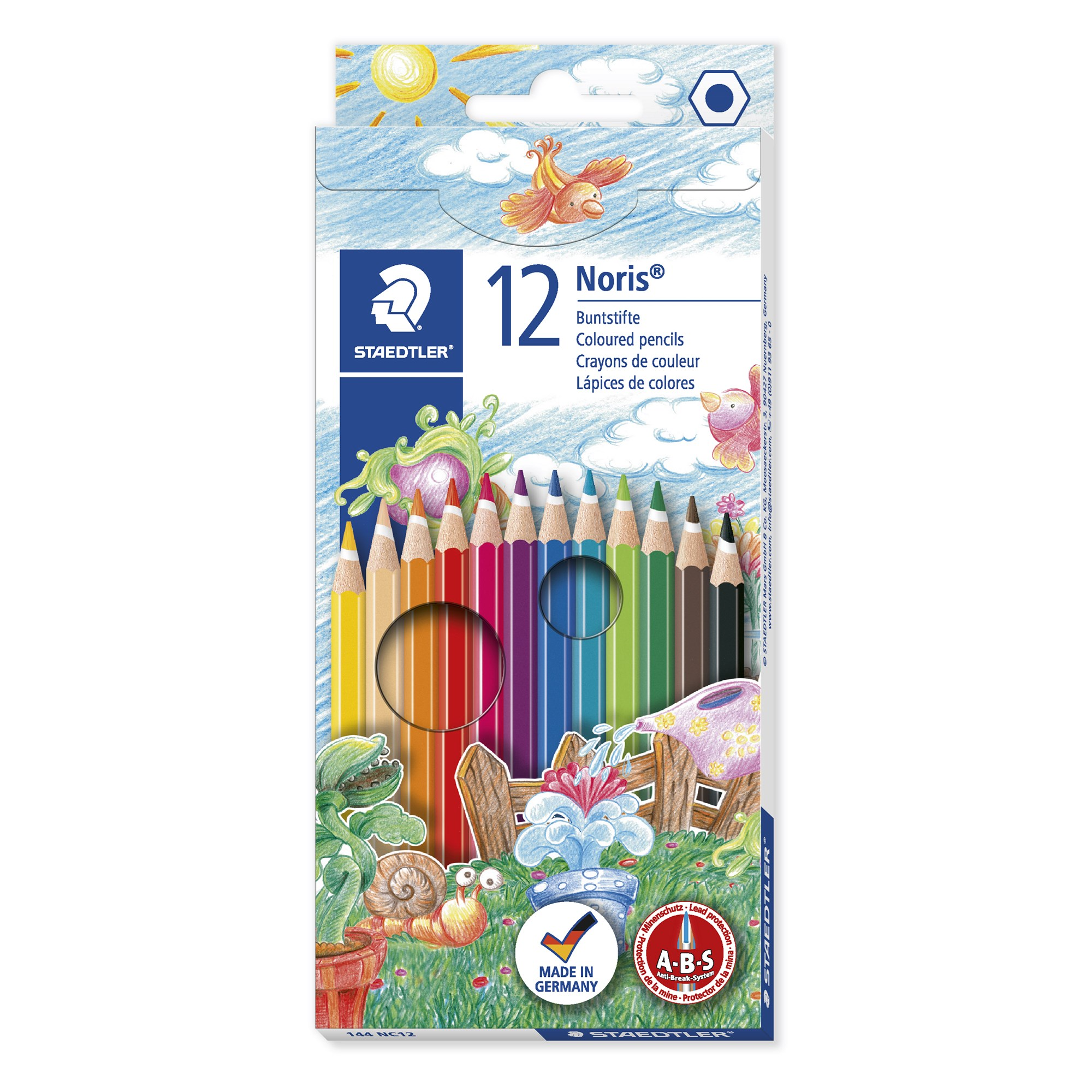 Noris Club Pencil Assorted Pk12