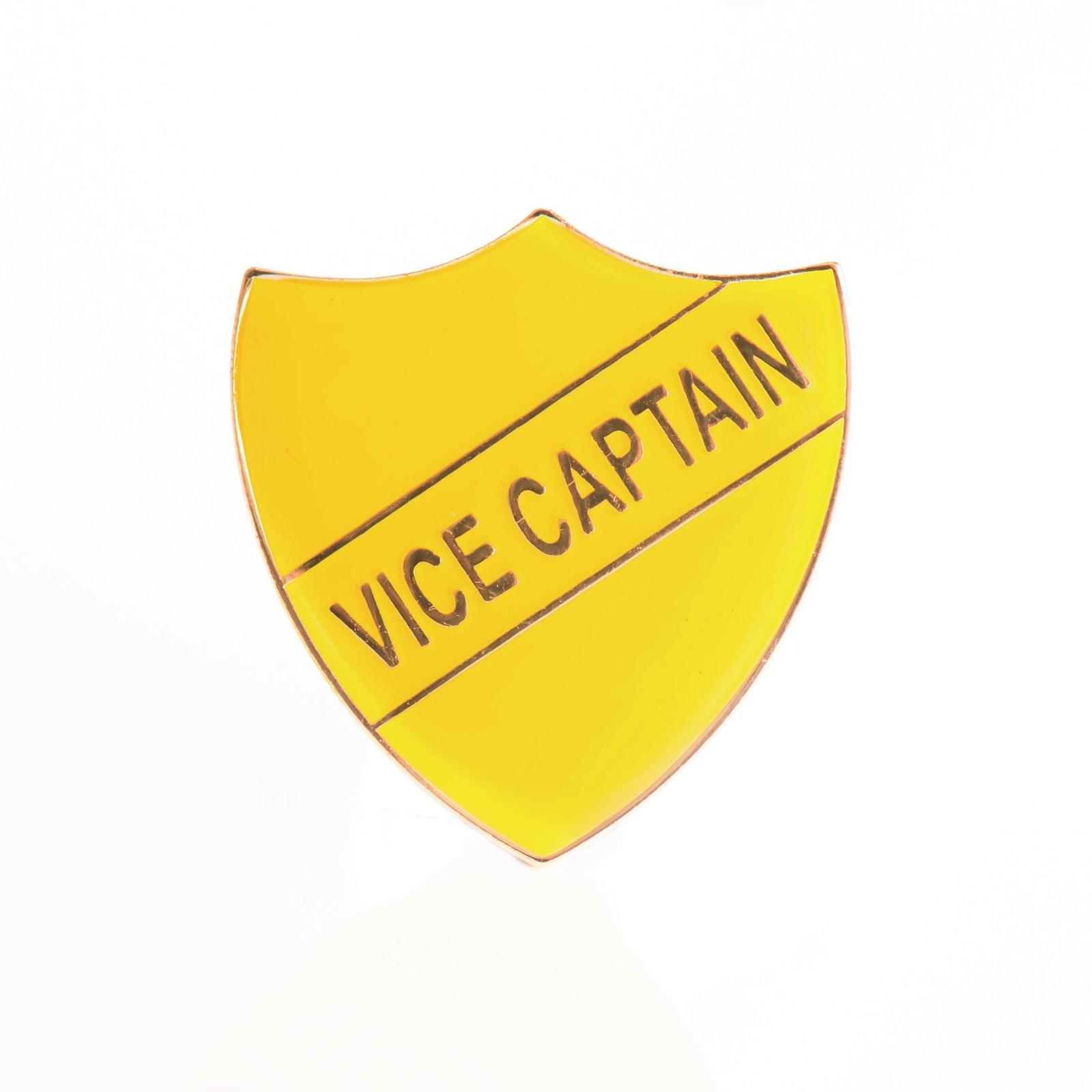 Vice Captain Shield - Yellow