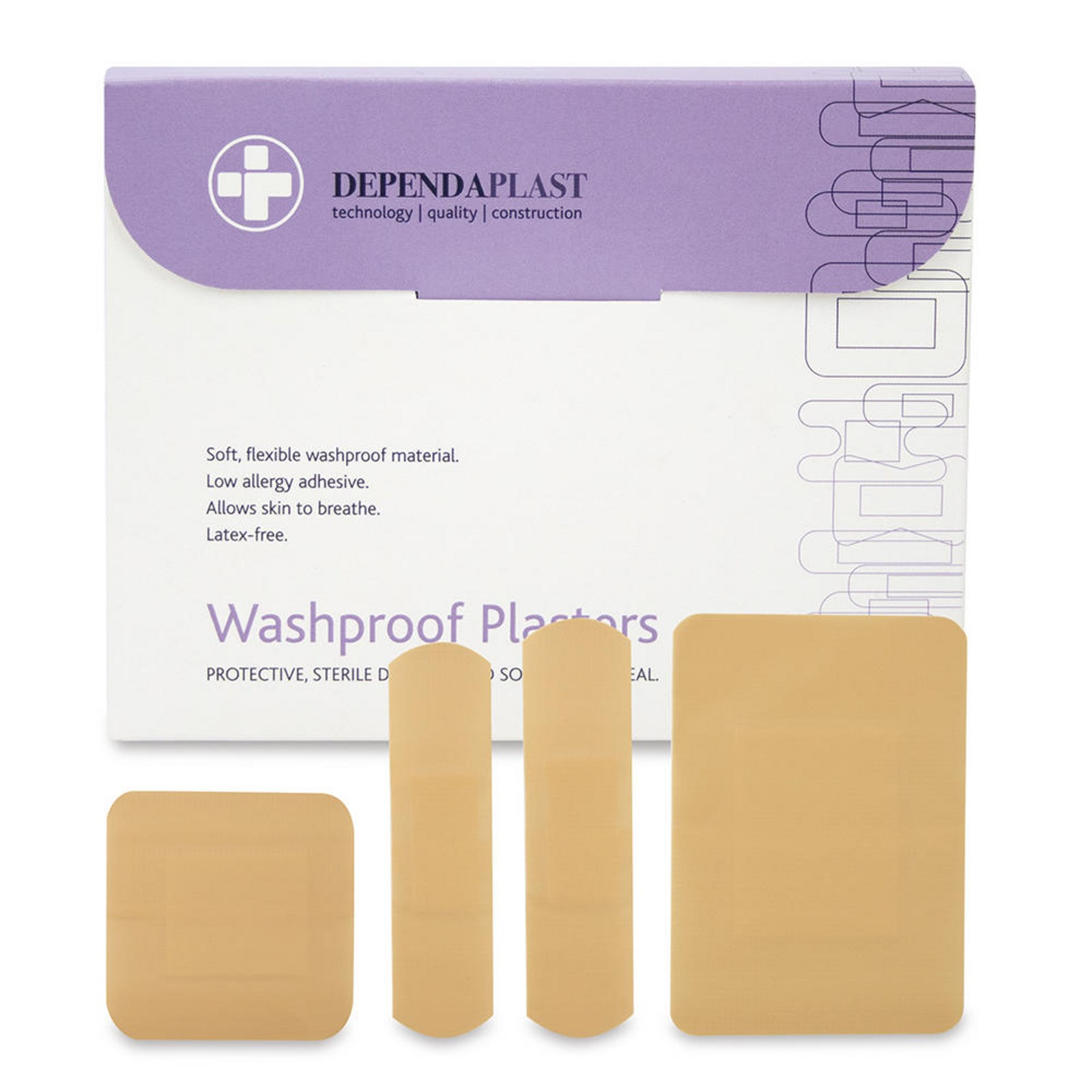 Washproof Plasters - Assorted