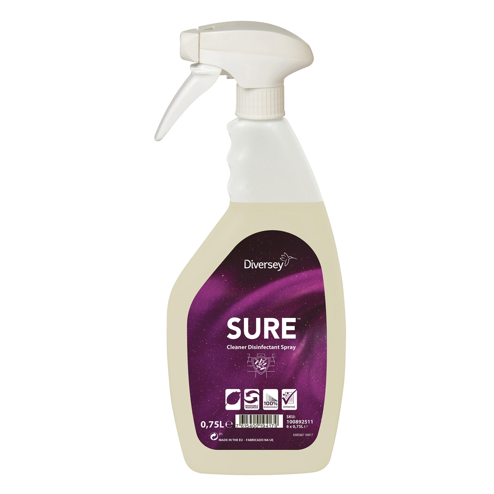 SURE Cleaner Disinfectant