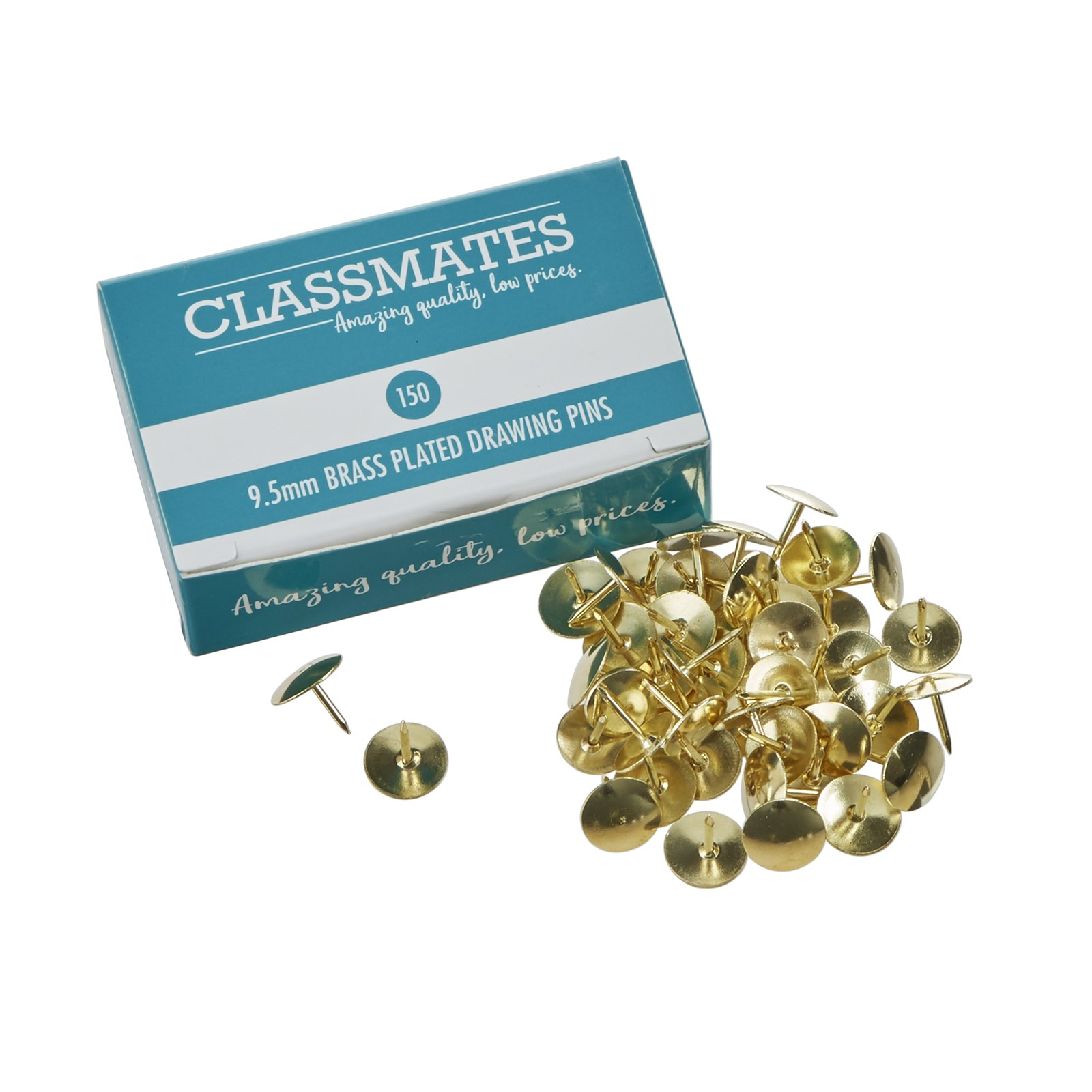 Classmates Drawing Pins 9.5mm - Pack of 150