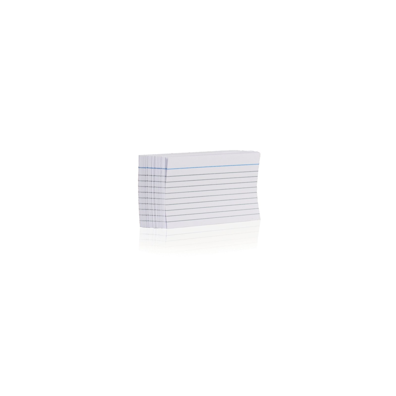 Record Card 127 x 76mm White - Pack of 100