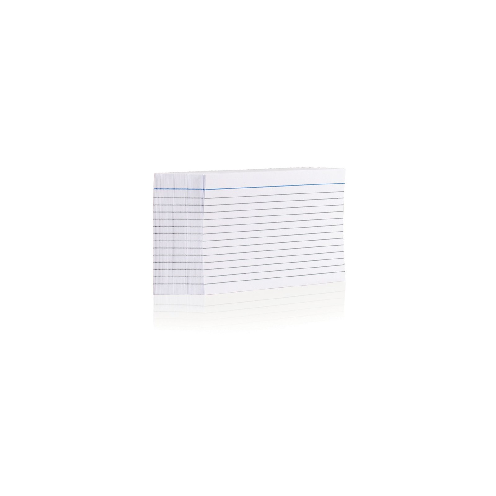Record Card 152 x 102mm White - Pack of 100