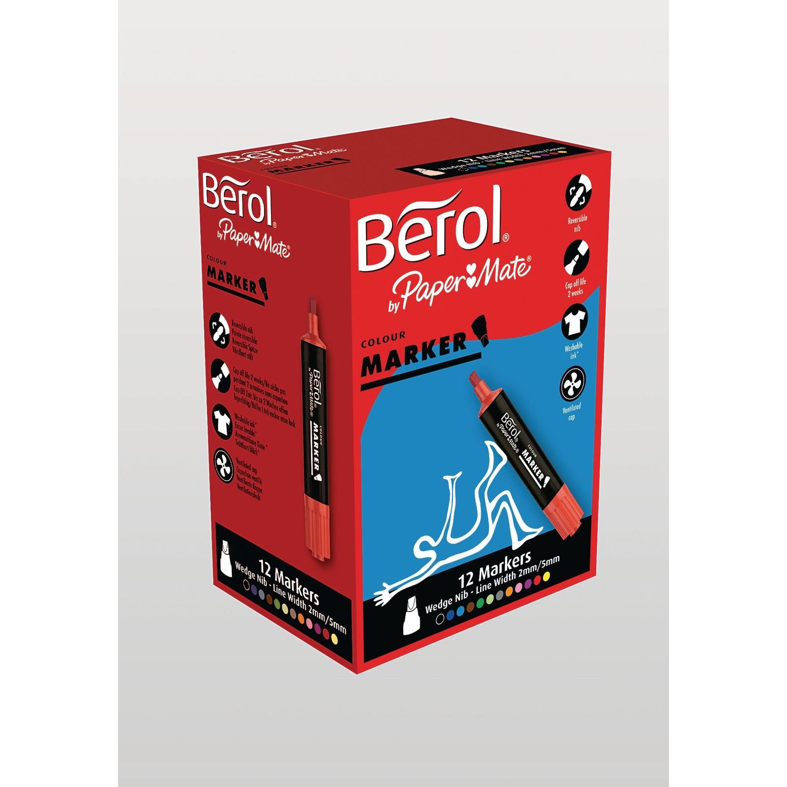 Berol Colour Marker Chisel P12
