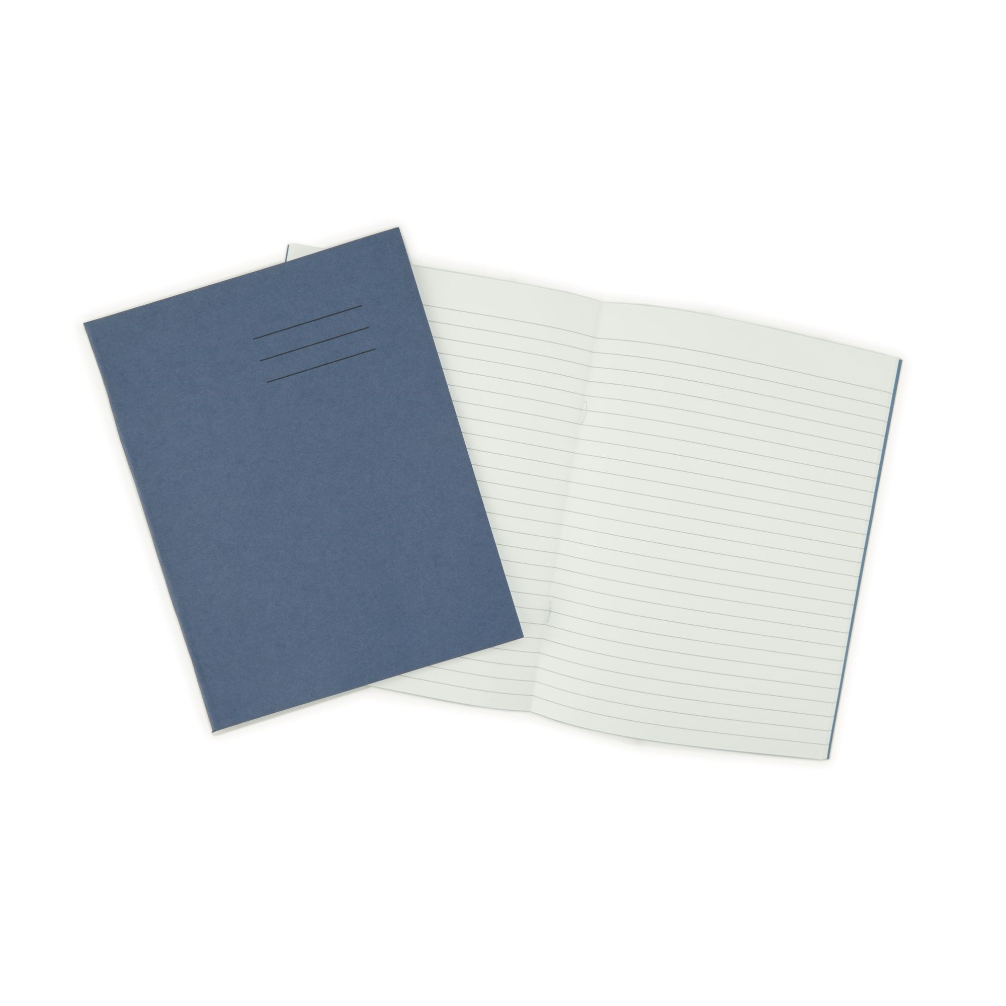 Classmates Dark Blue 229 x 178mm General Workbook 96 Pages 8mm Ruled (Pack of 50)