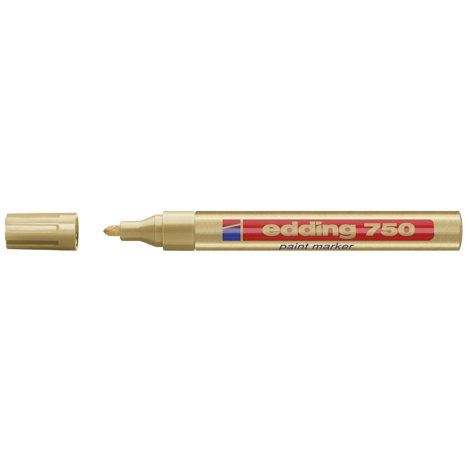 Edding 750 Broad Paintmarker - Gold