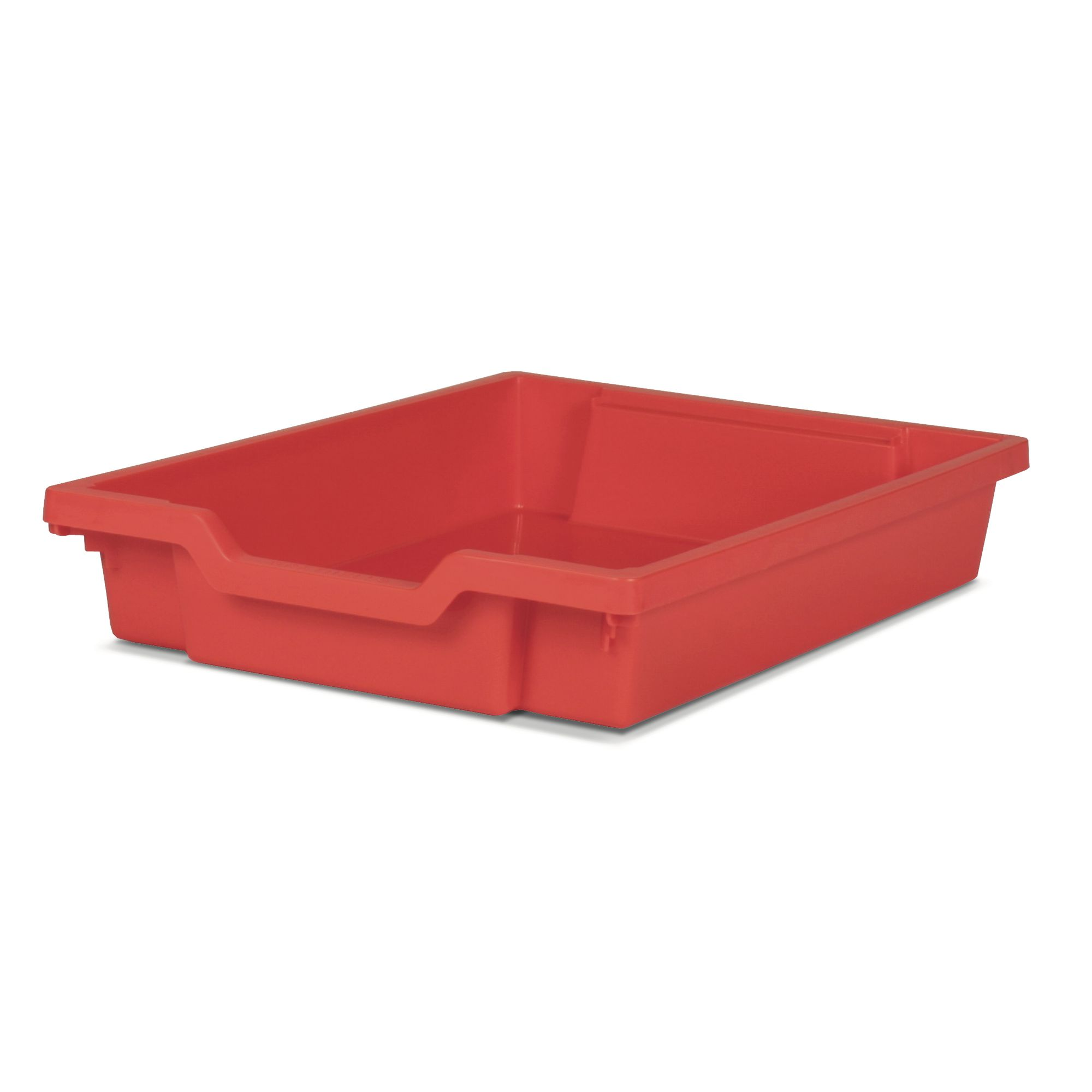 Gratnells Shallow Storage Tray Red Philip Harris