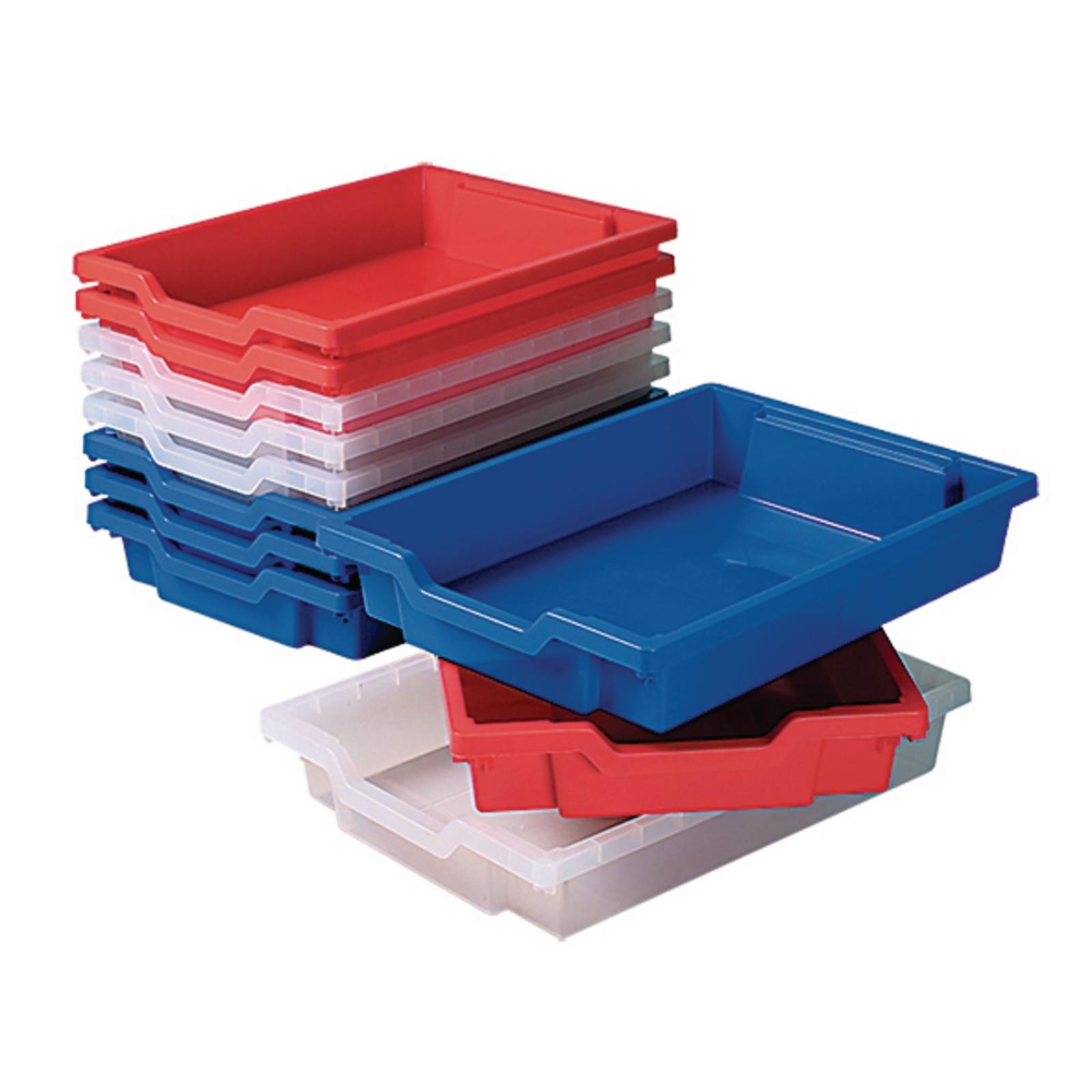 Gratnells Shallow Storage Tray - Purple