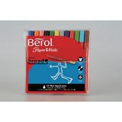 Berol Colour Broad Pens - Assorted - Pack of 24