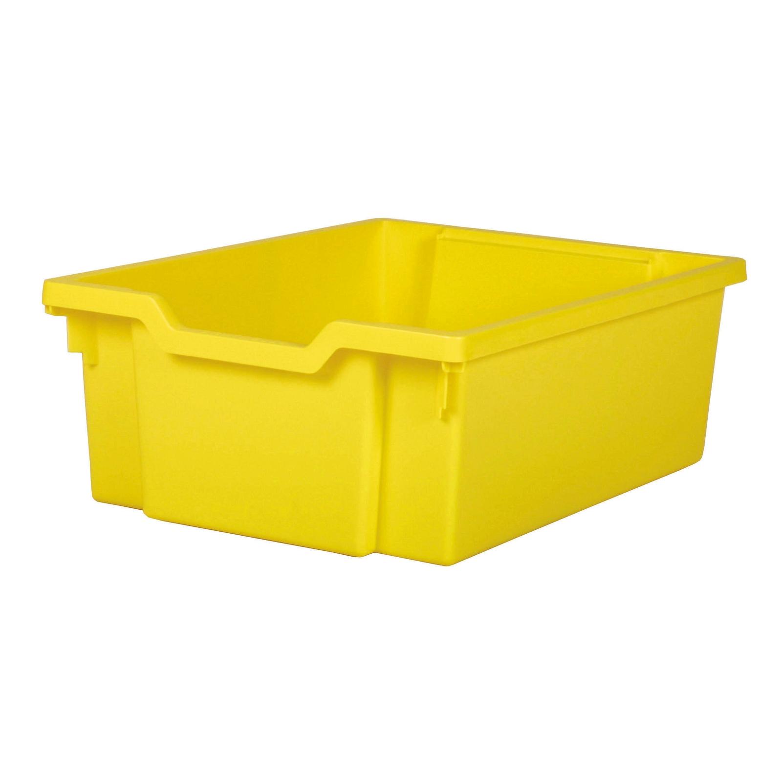 Gratnells Deep Storage Tray - Yellow