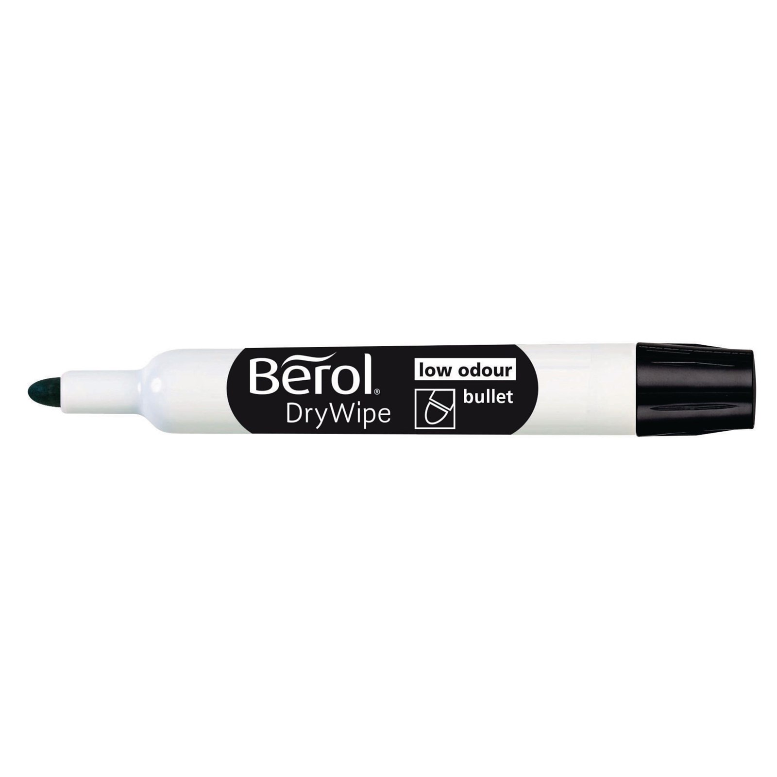 berol whiteboard marker black bullet tip pack of 48. Black Bedroom Furniture Sets. Home Design Ideas