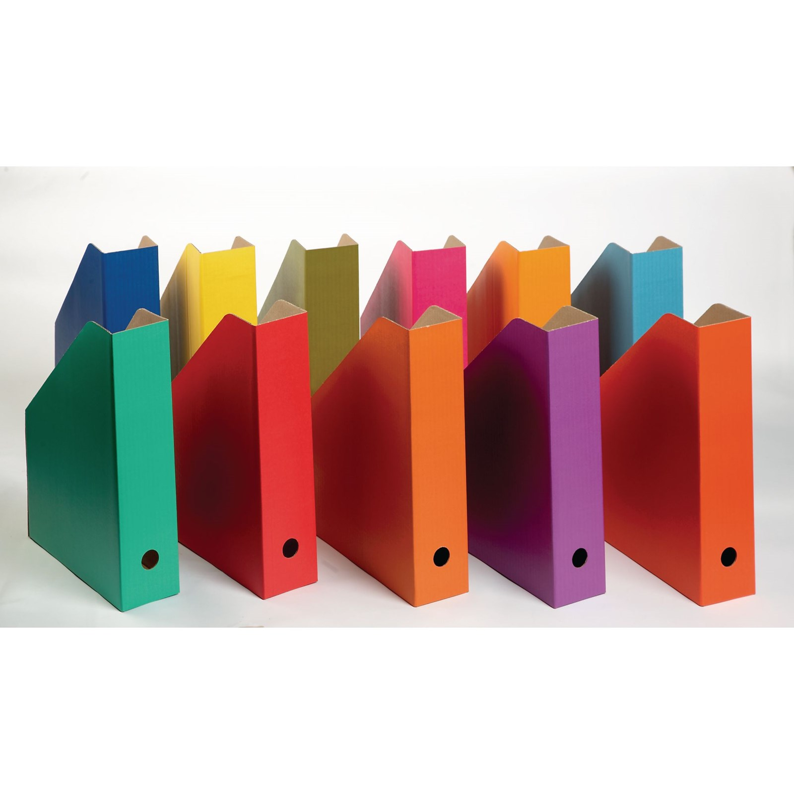 Coloured Filing Boxes