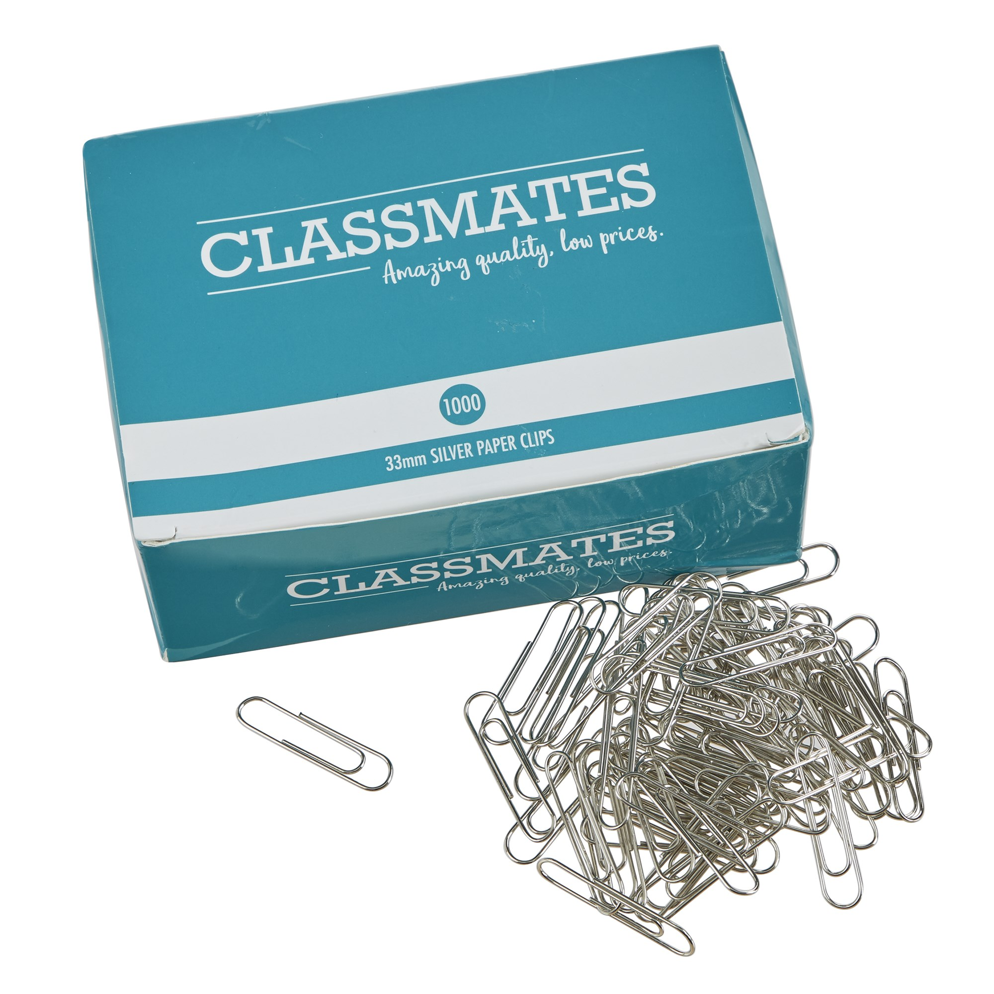 Classmates Paper Clips Large 31mm - Pack of 1000