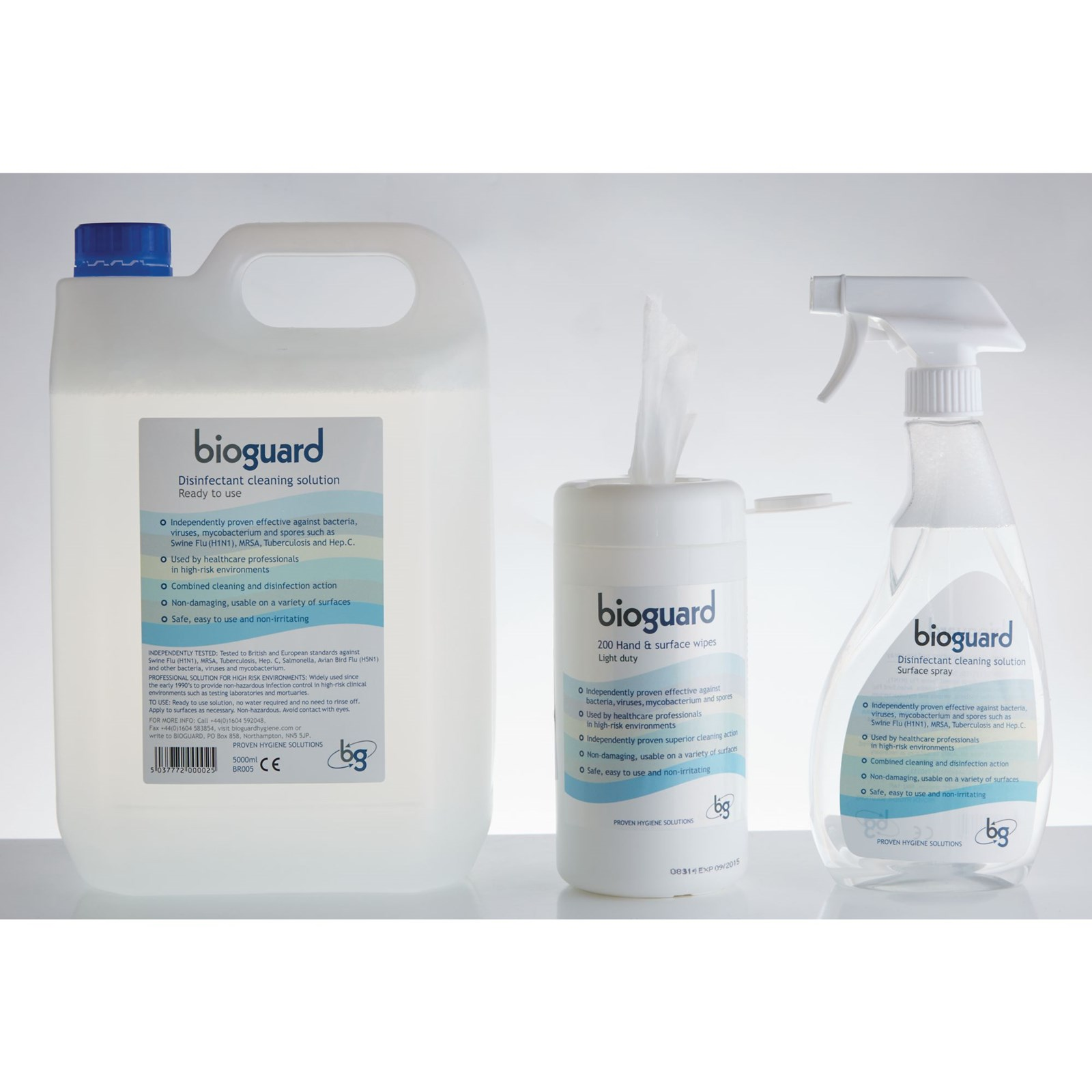 Bioguard Disinfectant Cleaner - Wipes