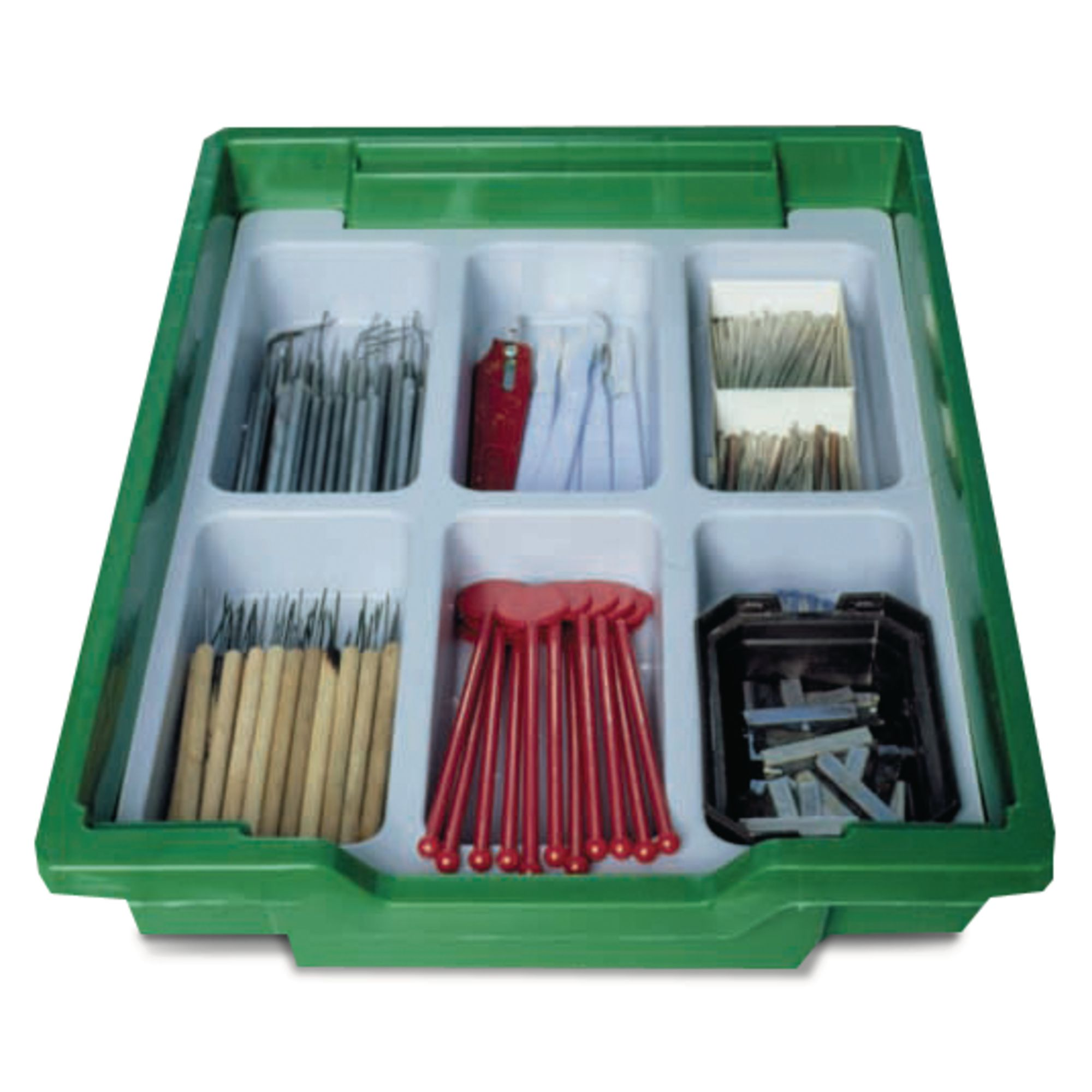 Gratnells Plastic Dividers for Shallow Trays 6