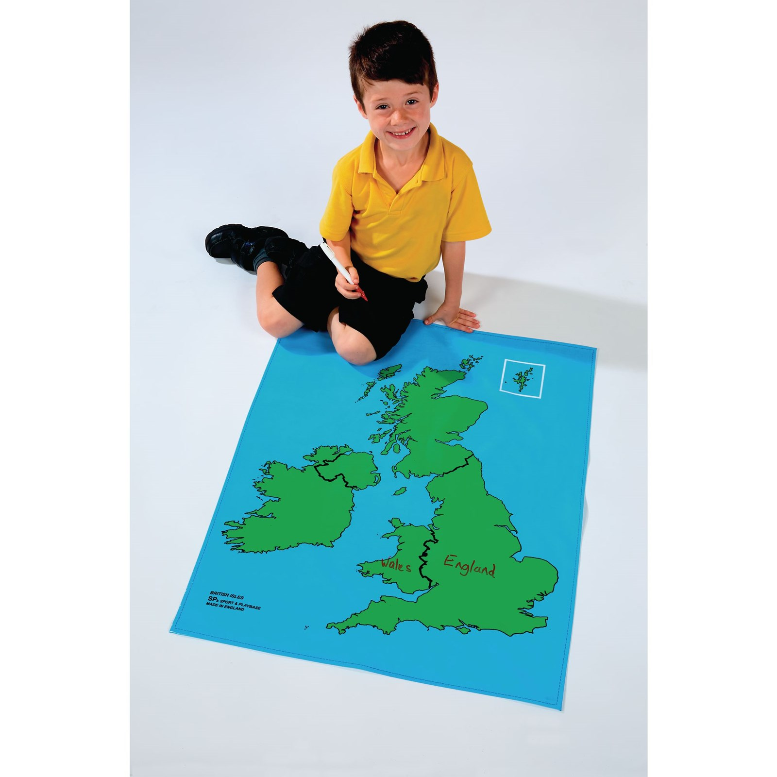 Playcloth Outline Map - British Isles