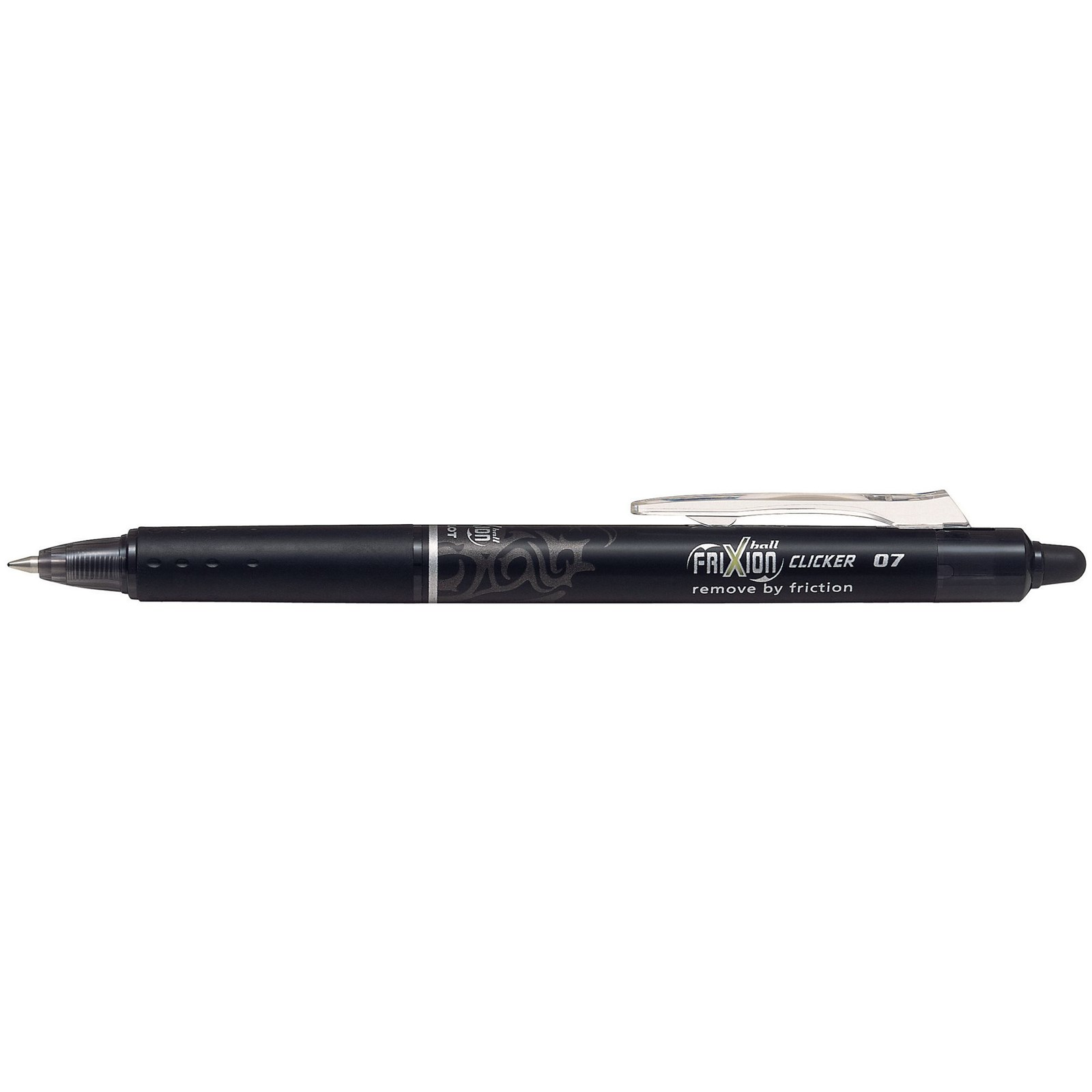 Frixion Clicker Rollerball Pen Black - Pack of 12