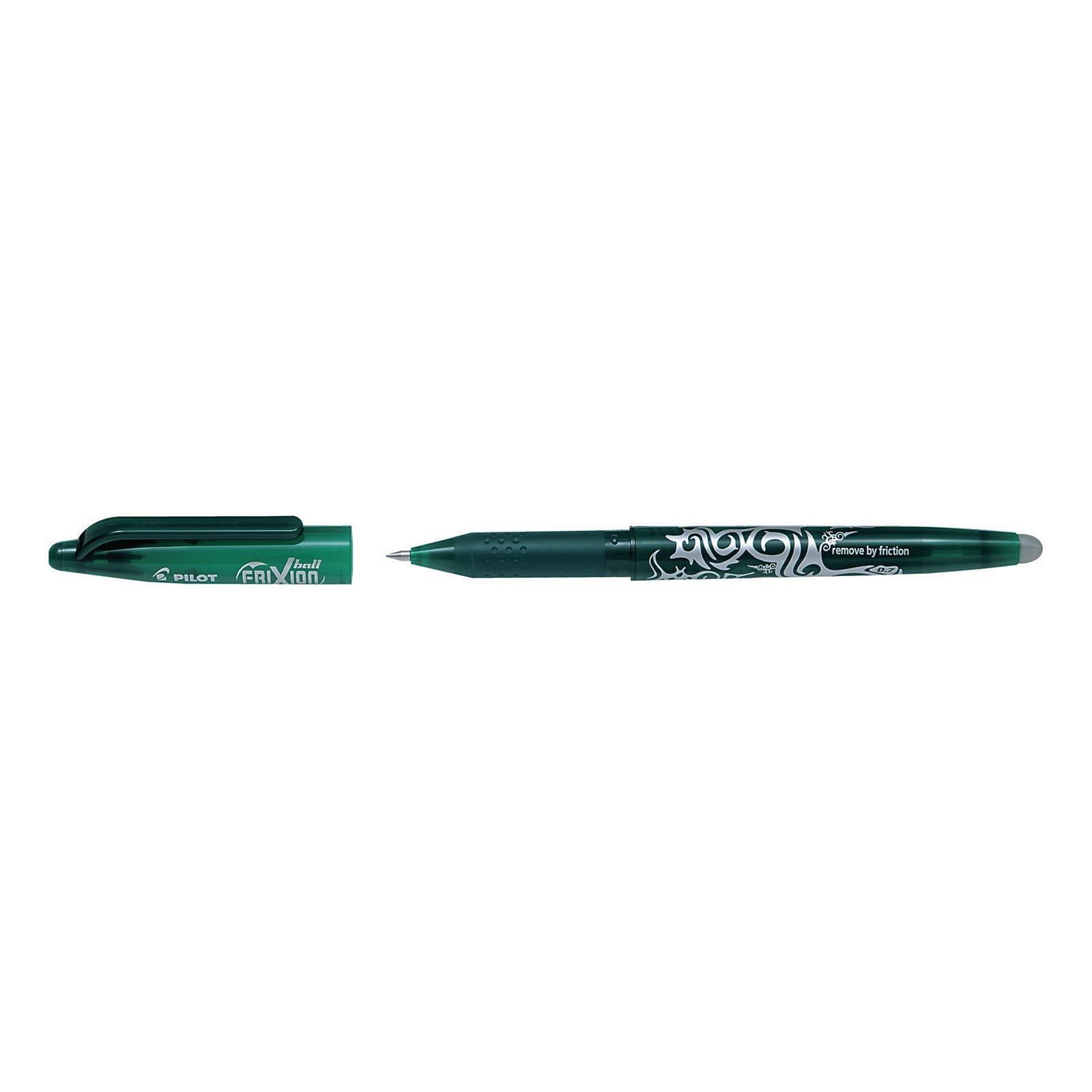 FriXion Erasable Rollerball Pen Green - Pack of 12
