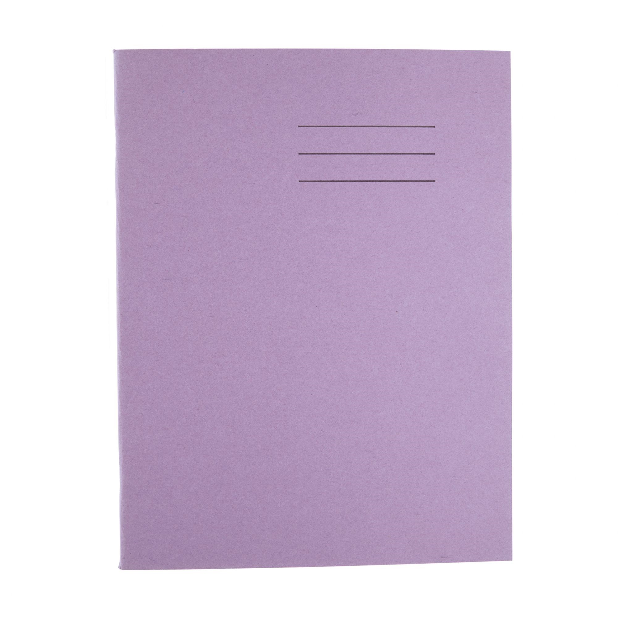 """Classmates Purple 9x7"""" 64 page 8mm Ruling with Feint Margin Exercise Book (Pack of 100)"""