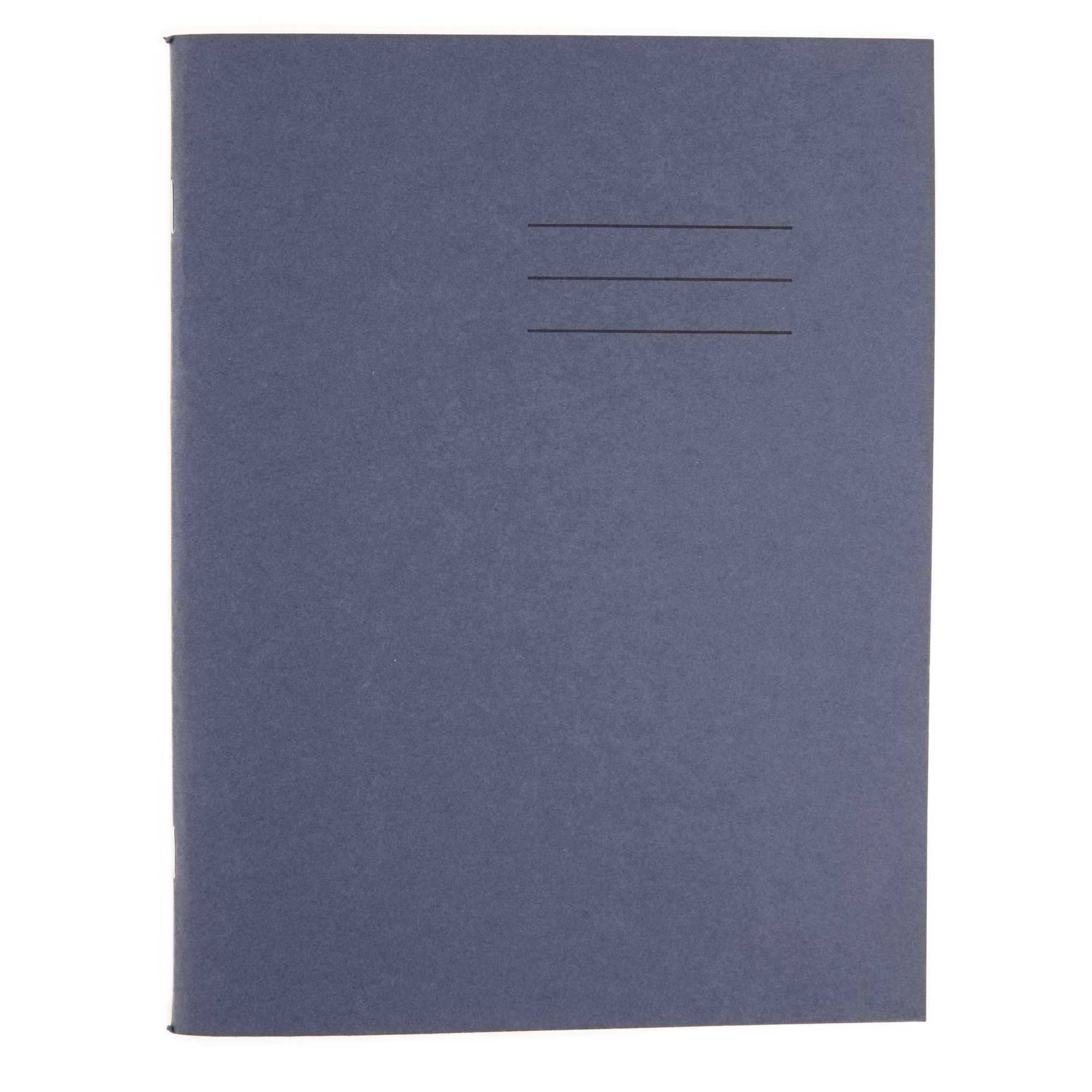 8x6.5 Exercise Book 32 Page Top Half Plain Bottom 12mm Ruled Blue (Pack of 100)