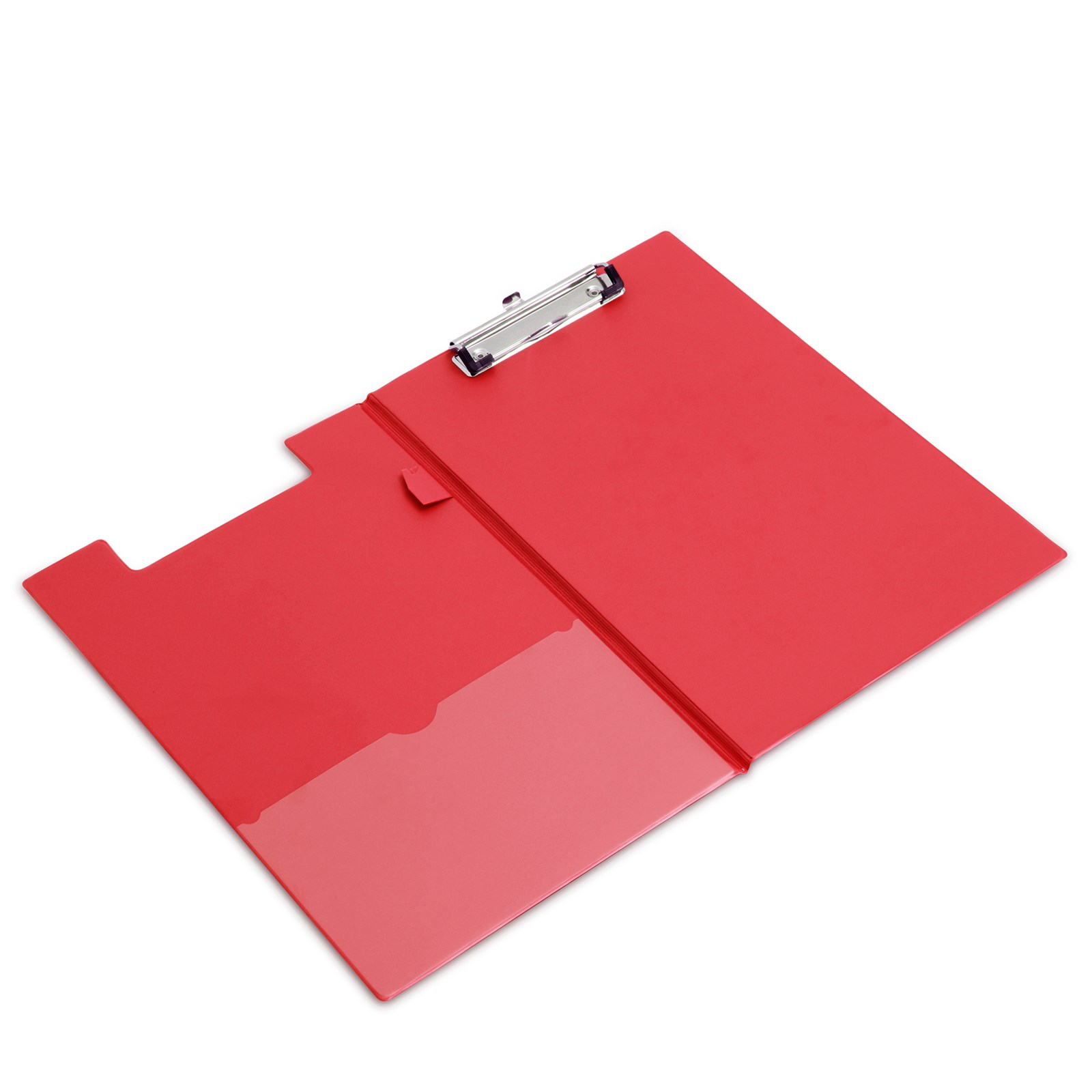 PVC ClipboardRed - Pack of 10