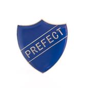 Prefect Badge Shield - Blue