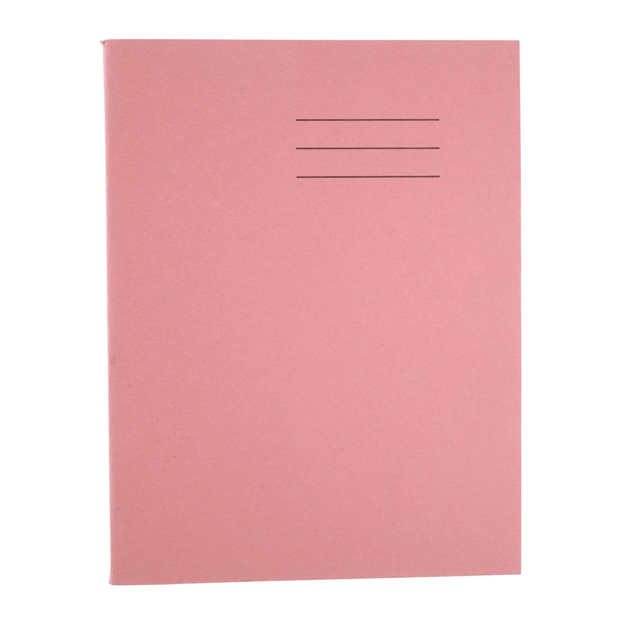 9x7 Exercise Book 48 Page 8mm Ruled with Margin Dark Green (Pack of 100)