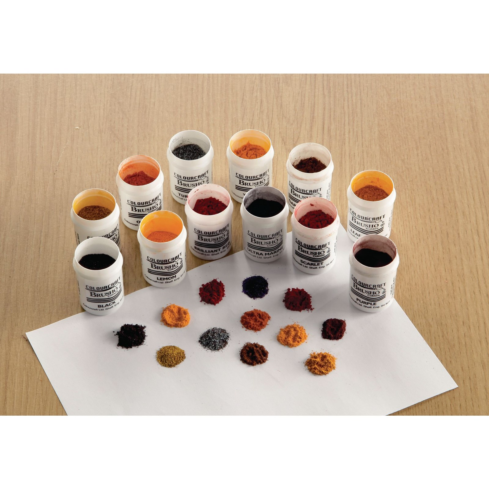 Brusho Powdered Water Colour - 24 colours