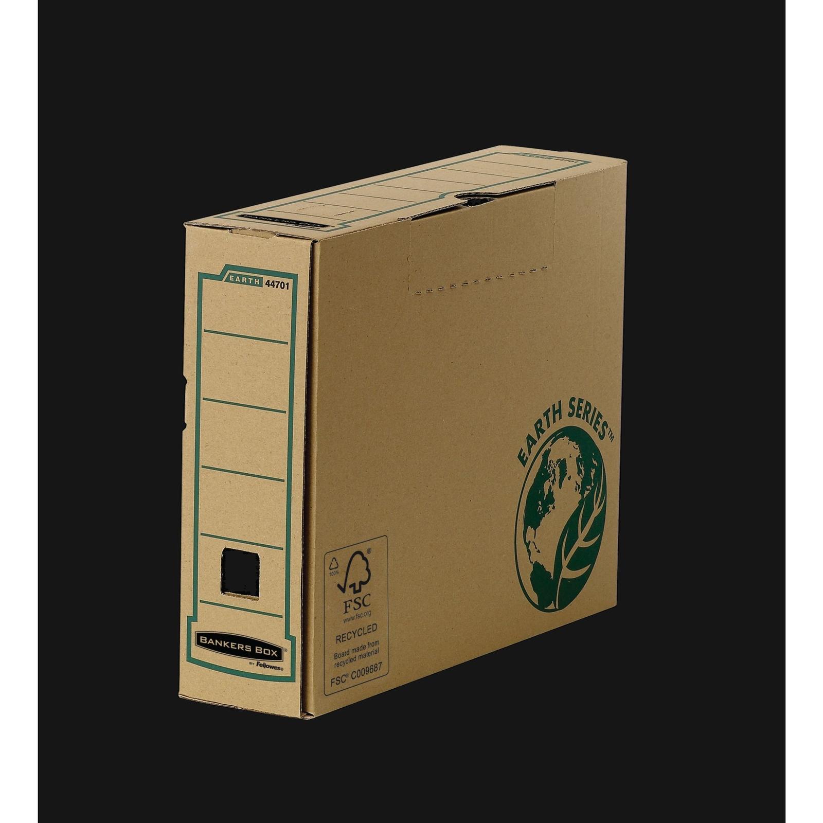 Transfer Box Files A4 Brown/Green P20