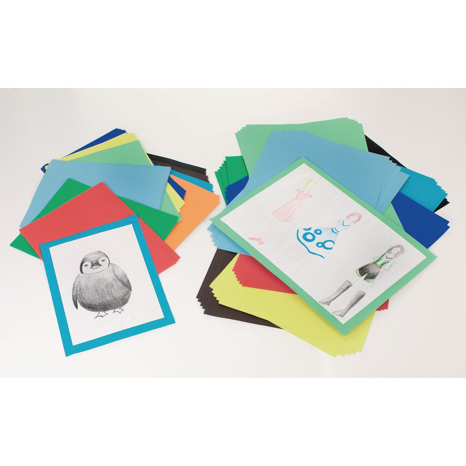 Classmates A4+ Mounting Paper - Assorted Pack of 100