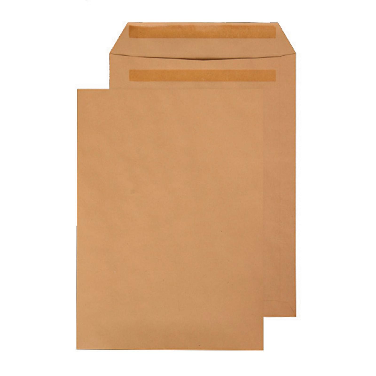 C4 Manilla Buff Self Seal Pocket Envelopes - Box of 250