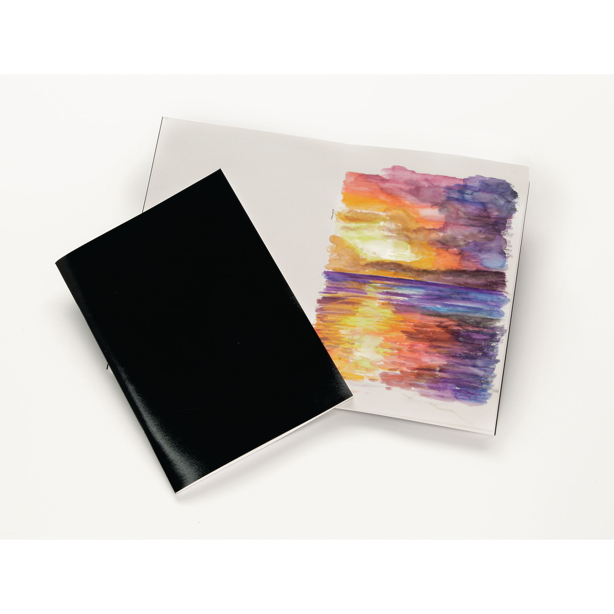 A4 Sketchbook Laminated Cover 40 Pages 140gsm Paper Acid Free Stapled School