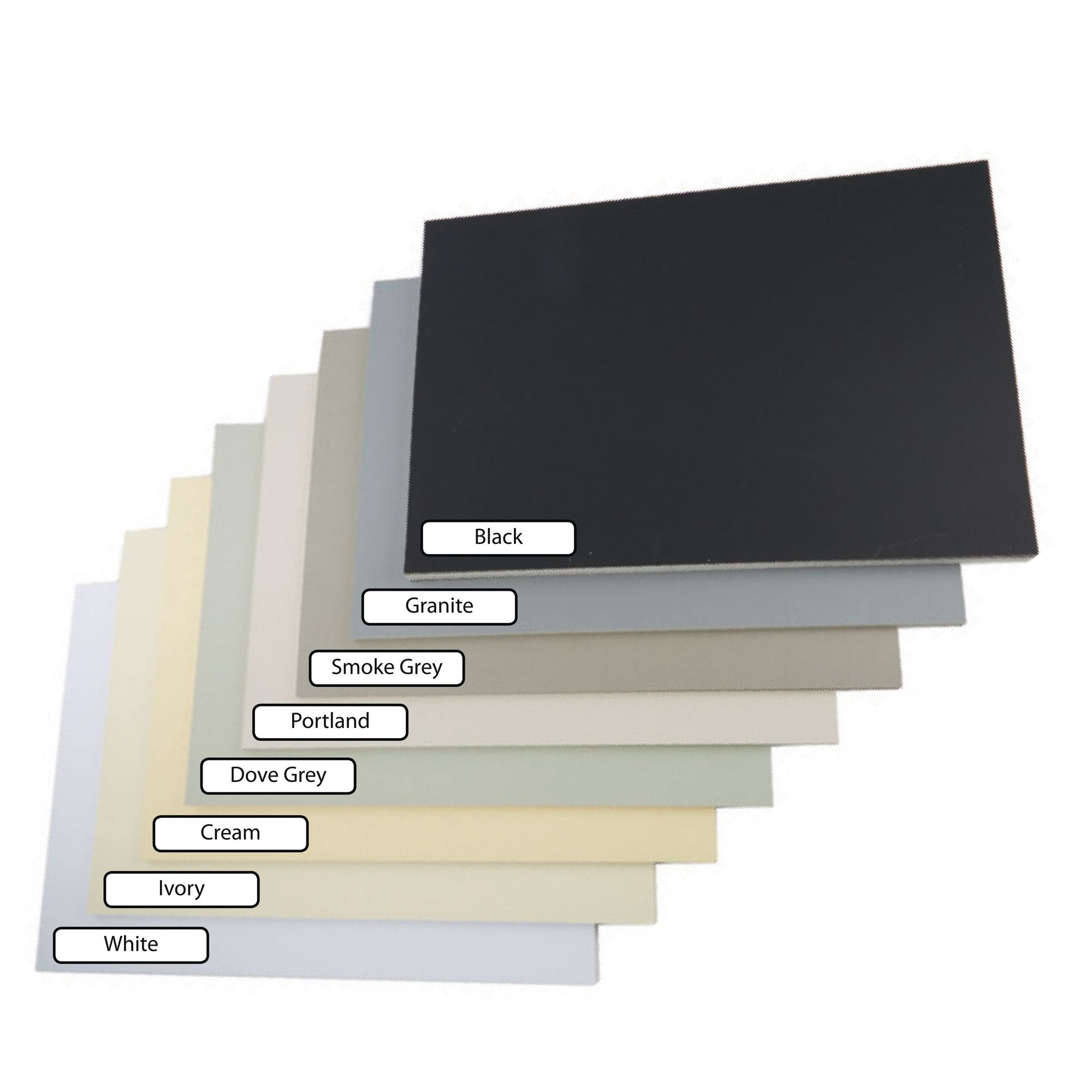 Packs of 10 White Picture Mounts Cream Picture Mounts. Black Picture Mounts