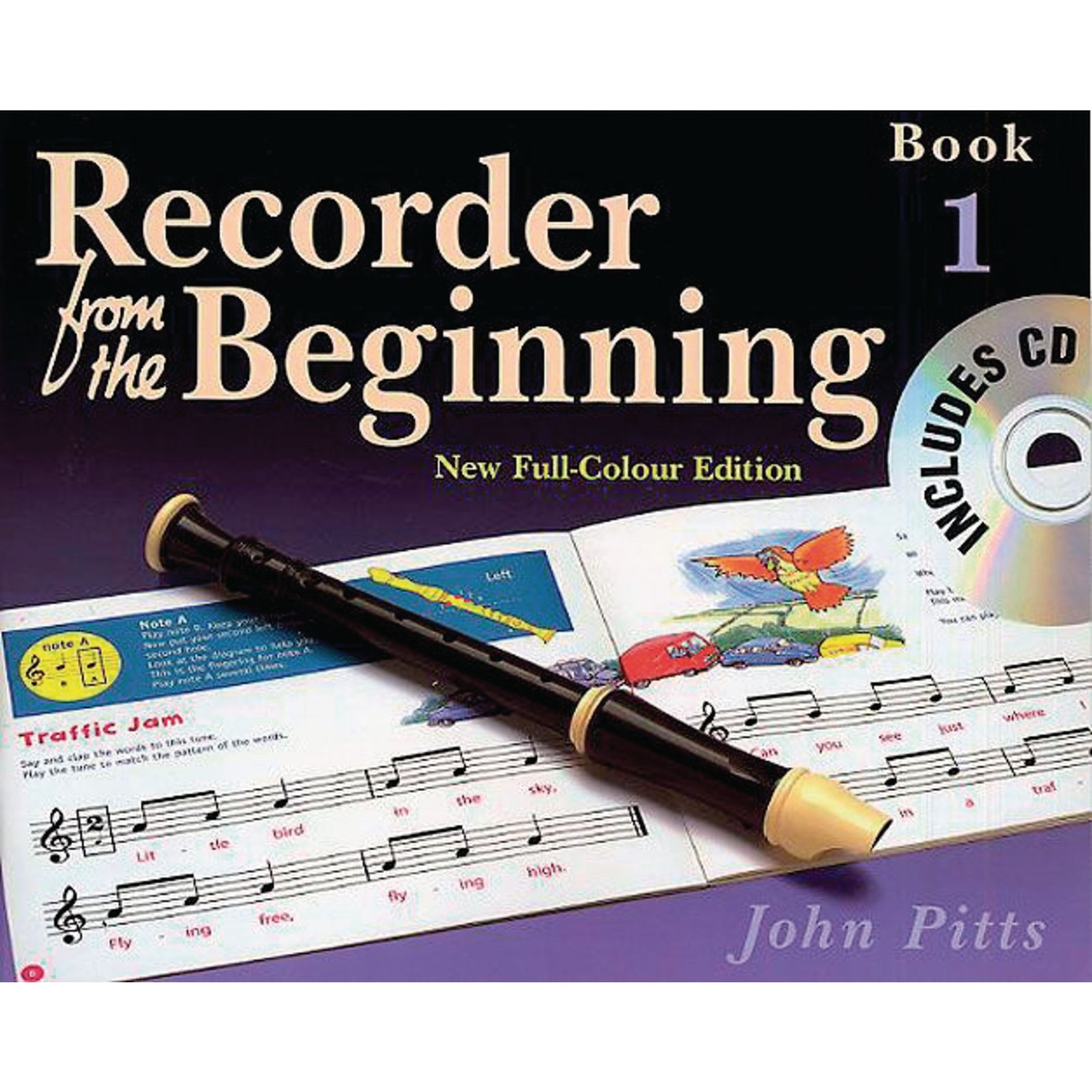 Recorder from the Beginning Method Books - Pupil's Book 1 + CD