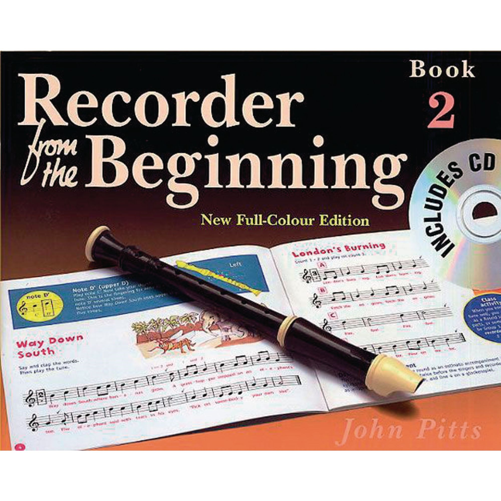 Recorder Beginning Method Book 2