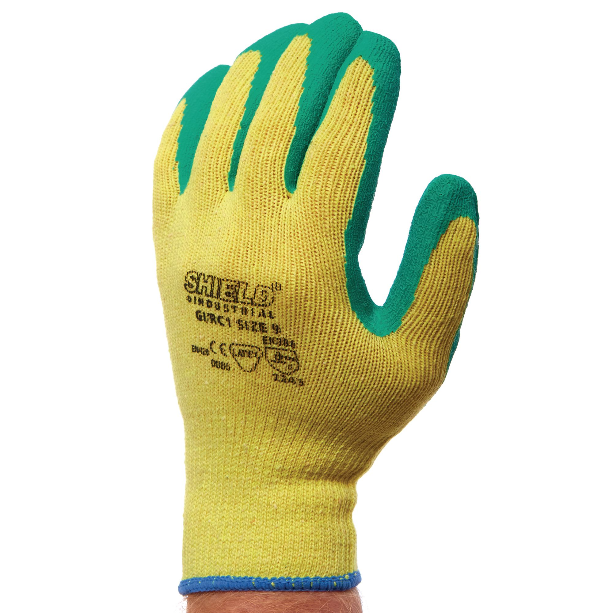 Medium Green Gardening Gloves Pair Gls Educational