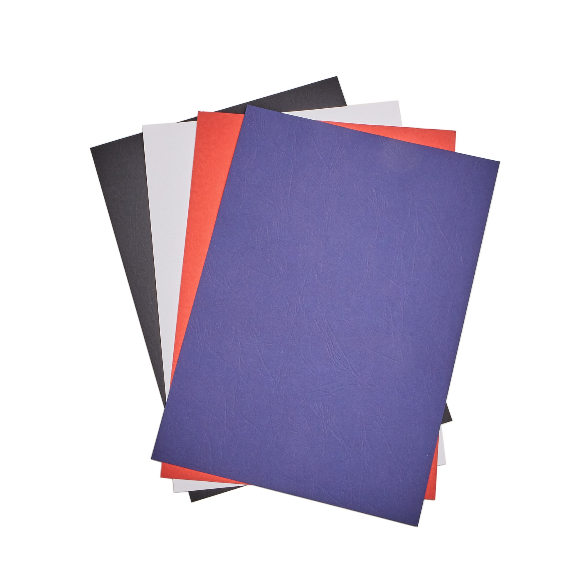 Leathergrain Binding Covers - Blue - Box of 100