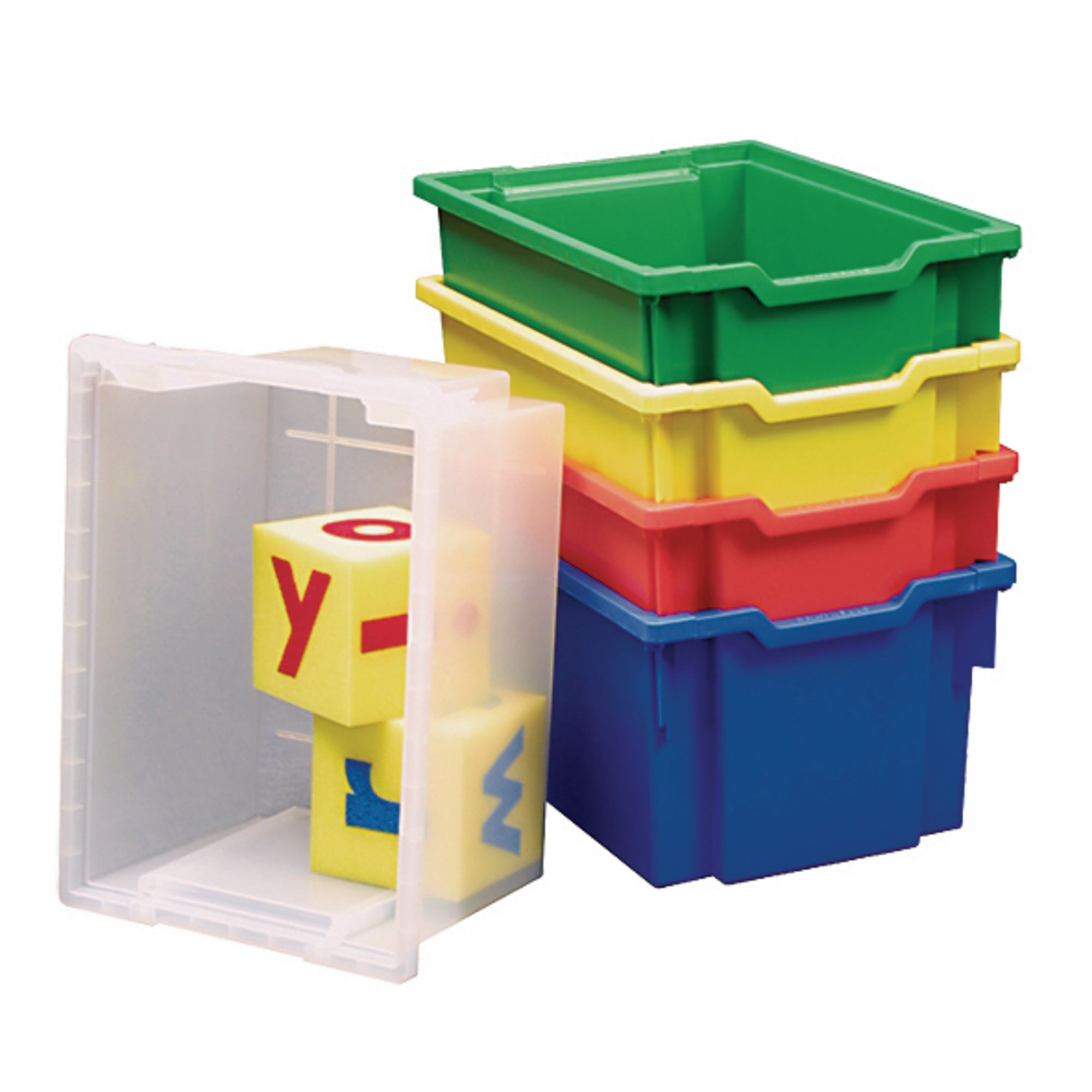 Gratnells Extra Deep Storage Tray - Green