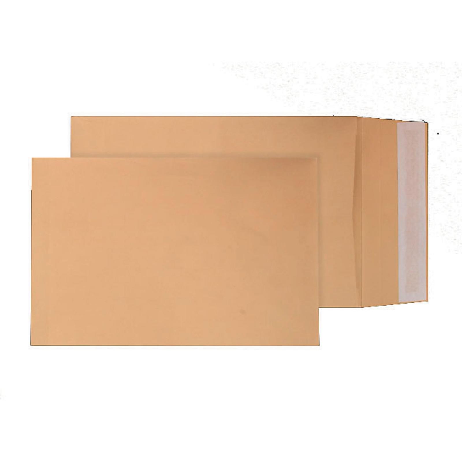 C4 Manilla Peel and Seal Pocket Envelopes - Box of 125