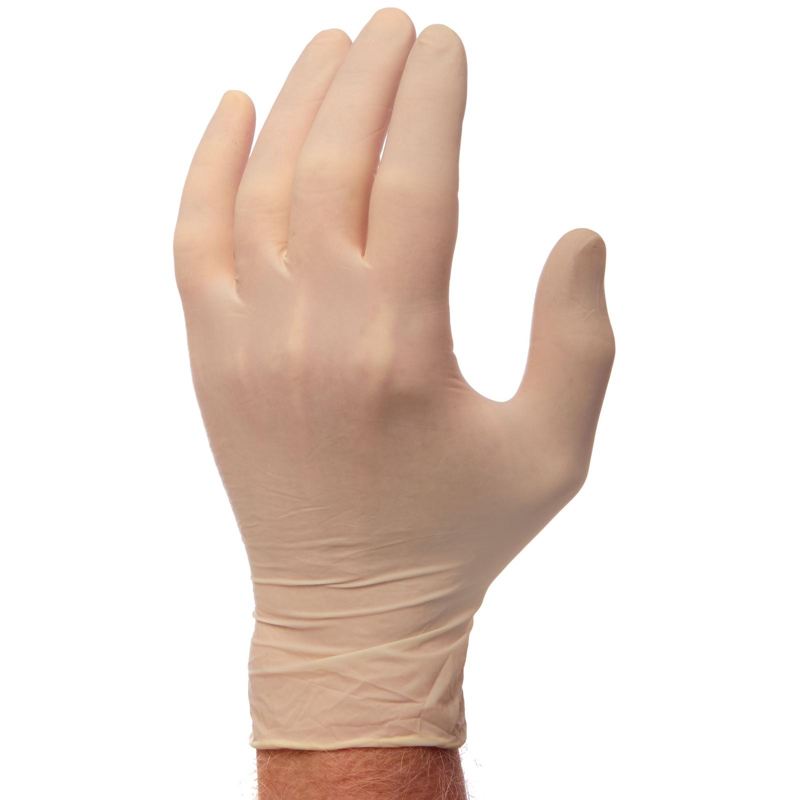 Powdered Latex Disposable Gloves - Medium