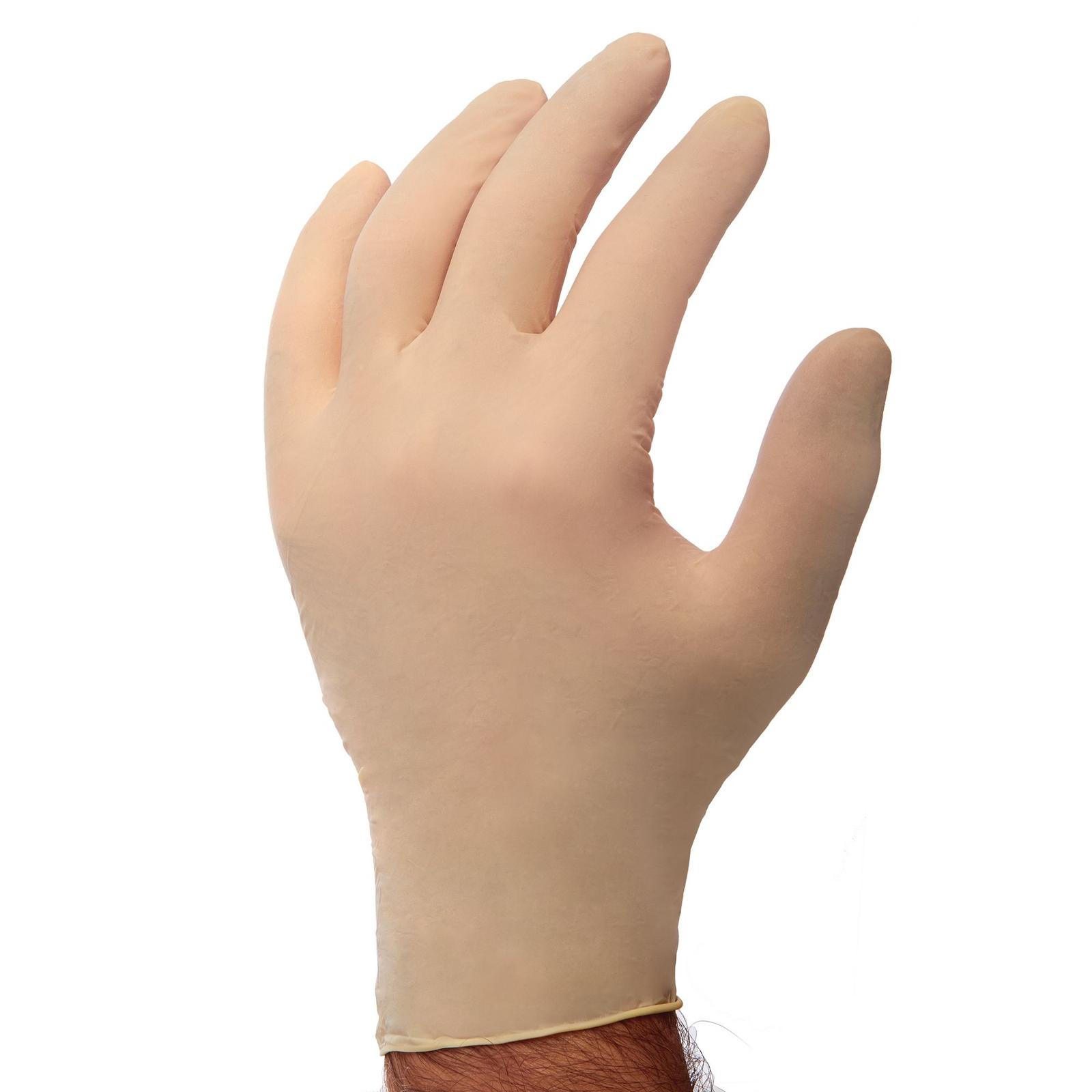 Powder Free Latex Disposable Gloves - Medium