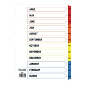 Tax Year Dividers Pack of 10