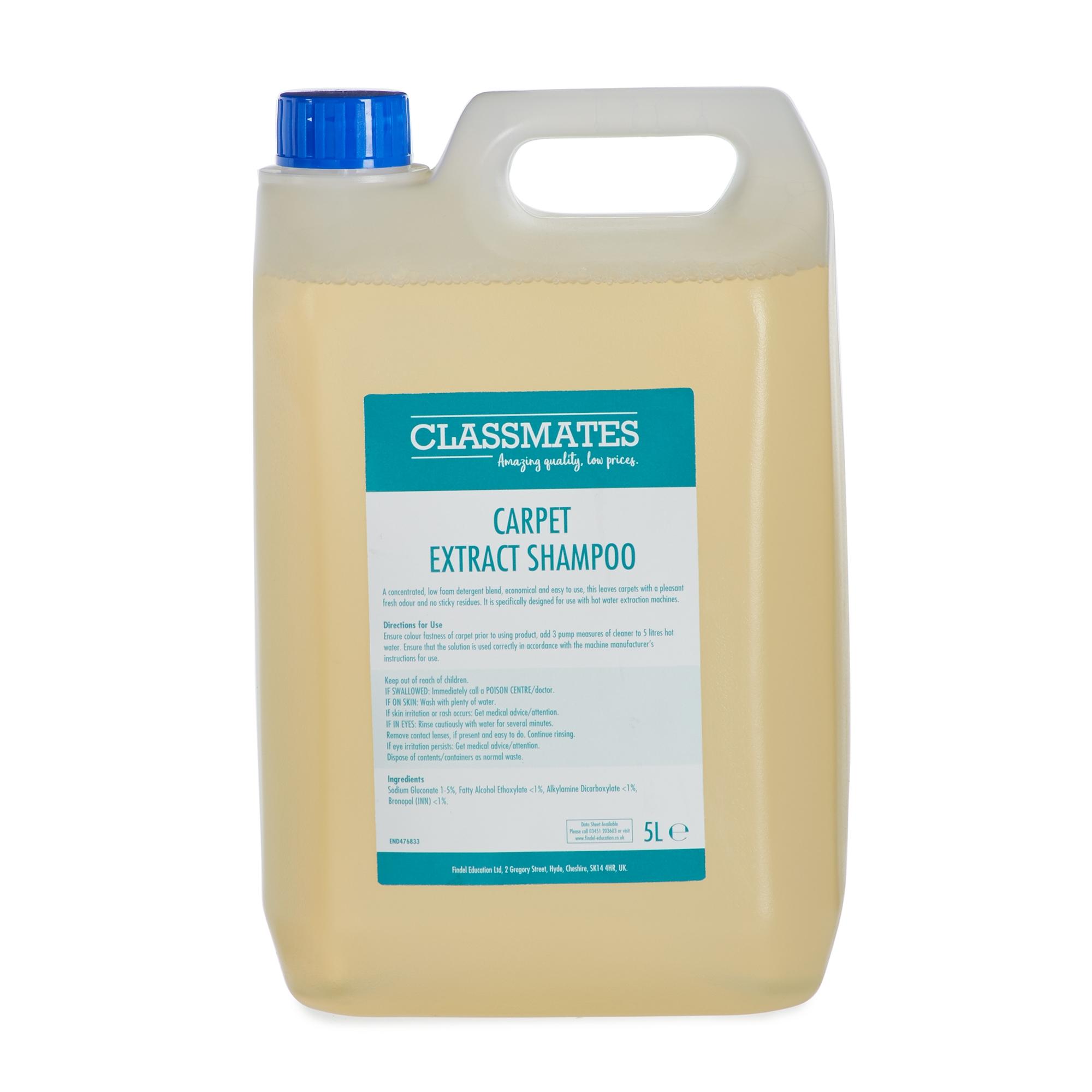 Classmates Carpet Extraction Shampoo 5L (Case of 2)