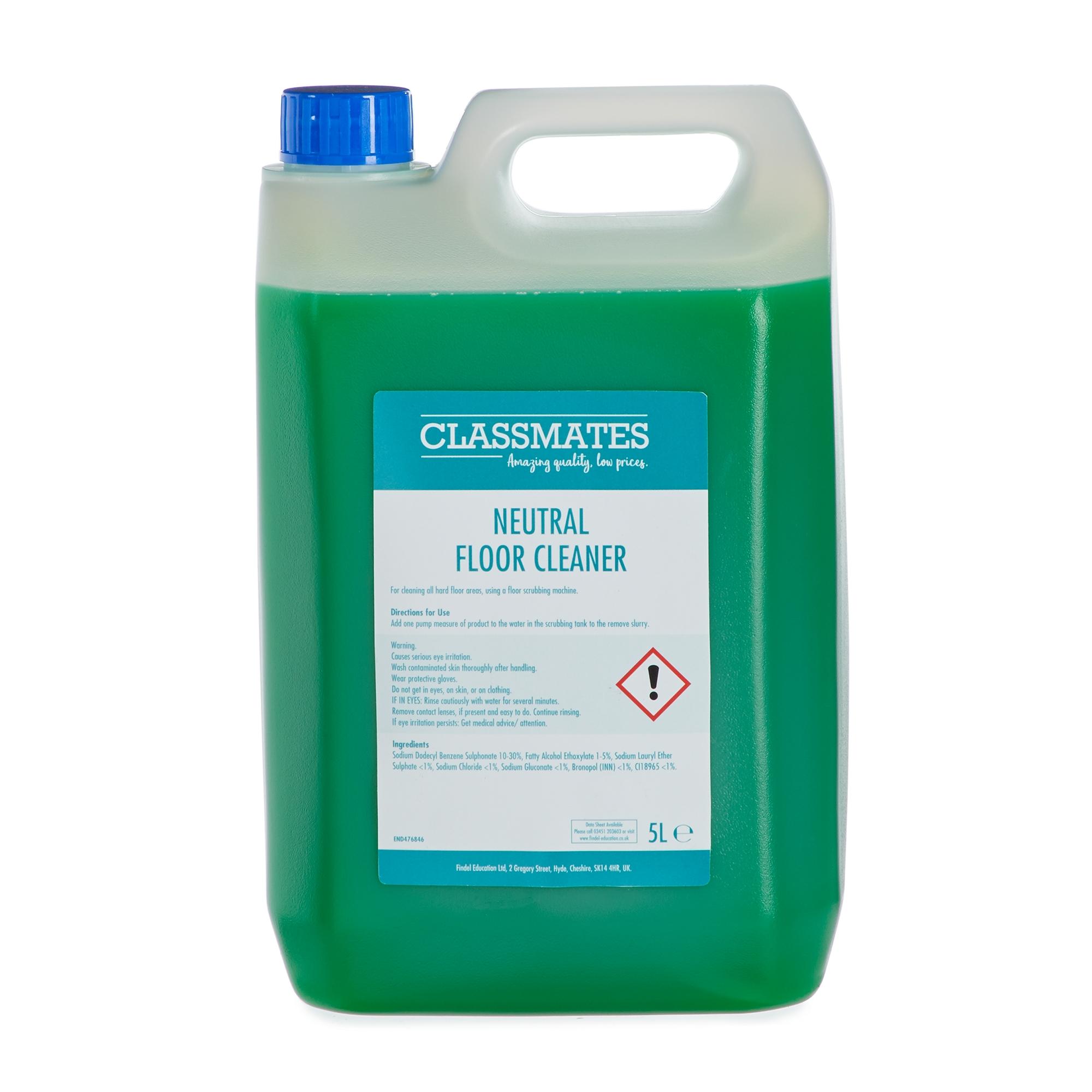 Classmates Neutral Floor Cleaner 5L (Case of 2)