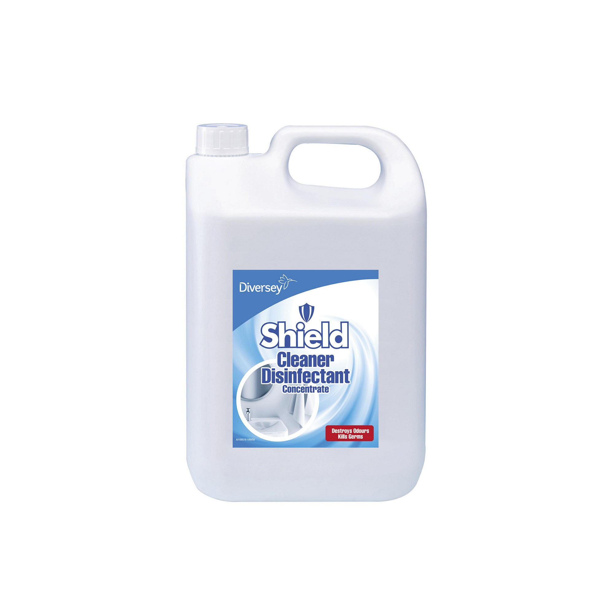 Diversey Shield Disinfectant Cleaner 5L (Case of 2)