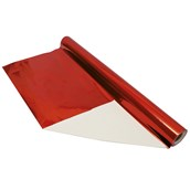 Paper Backed Foil Rolls - Red