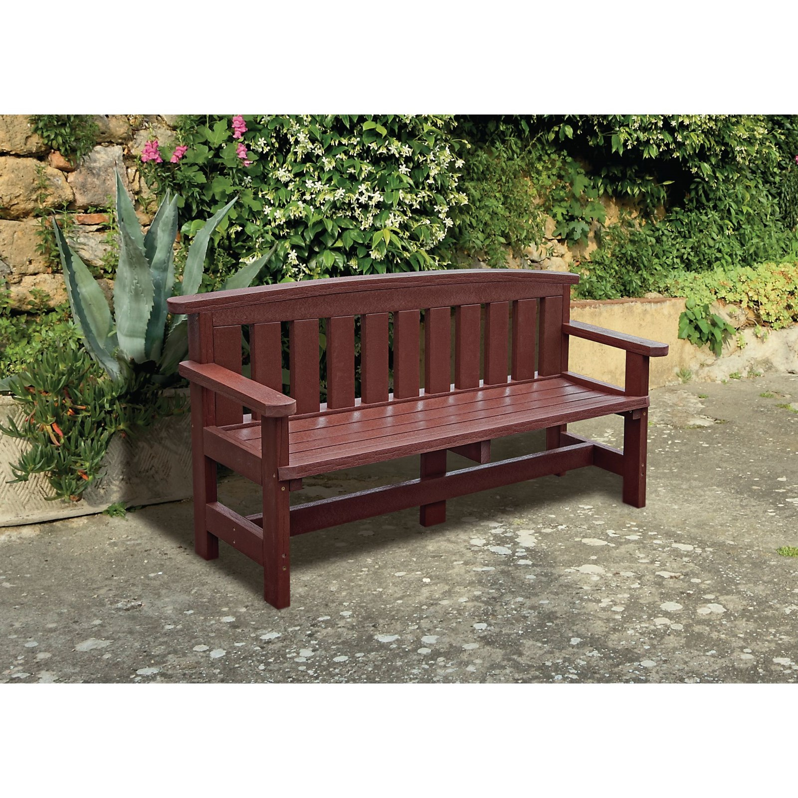 Traditional 3 Seater Bench