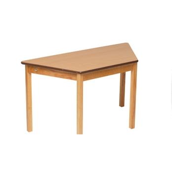 Tuf Trapezoidal Height Adjustable Solid Wood Premium Classroom