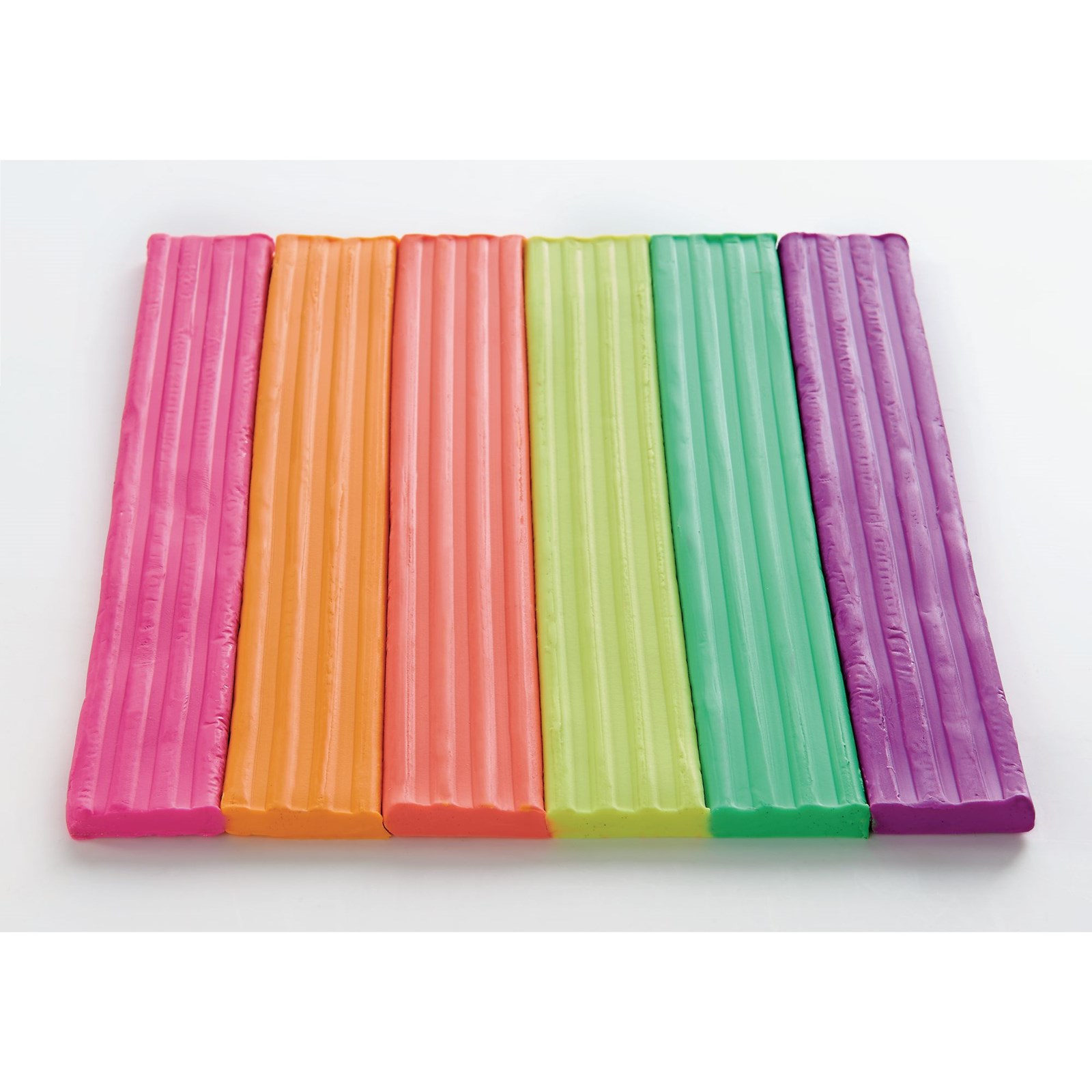 Neon Modelling Material 500g Pack of 6