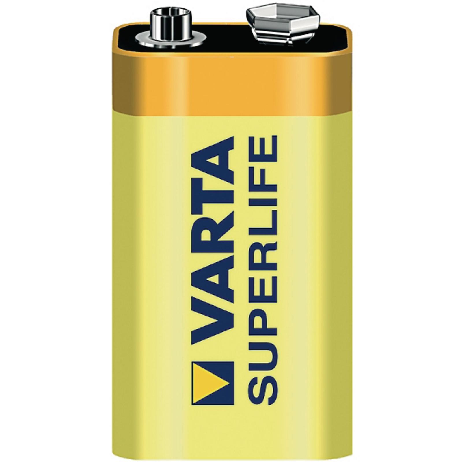 High Power Zinc Chloride Battery - 9V, PP3